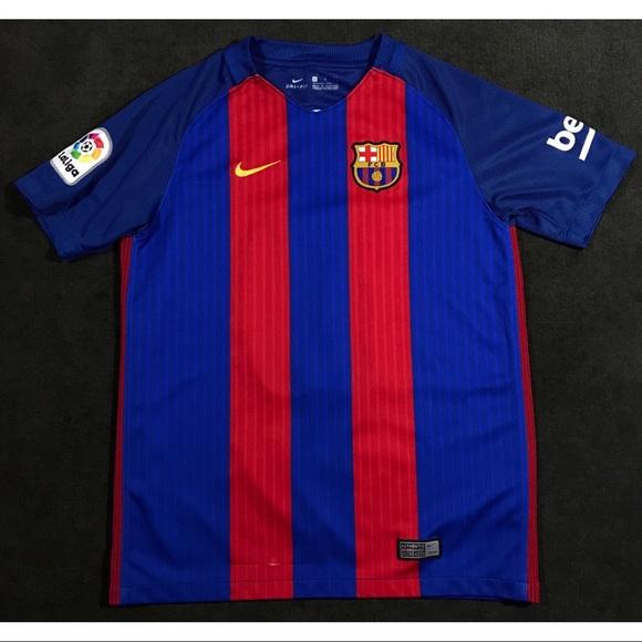 d583a89209d FC Barcelona Nike Lionel Messi Jersey Large Kids. M_5ca2b33eb3e917f89c098f37